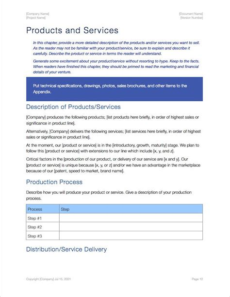 business plan template apple iwork