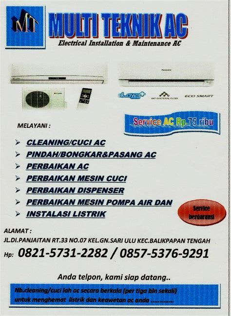 Jasa Service Reparasi Pcb Ac Dan Alat Alat Laboratorium jasa service ac balikpapan murah dan bergaransi