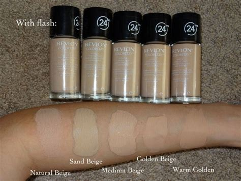 Revlon Liquid Foundation revlon color stay liquid foundation combination