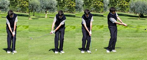 swing nel golf lo swing chipping caneo golf