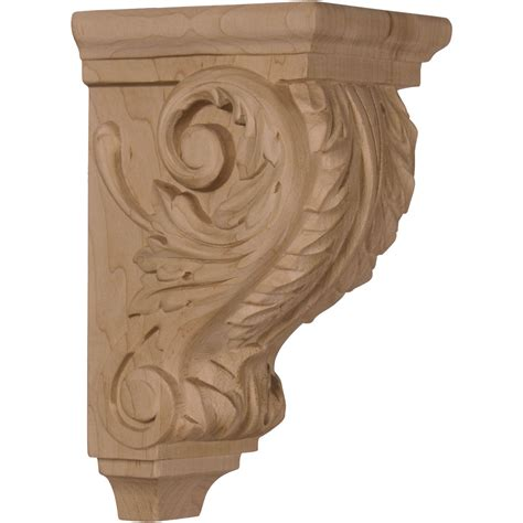 What Are Corbels Used For Ekena Millwork Corbel Mahogany Corw03x04x07acgm