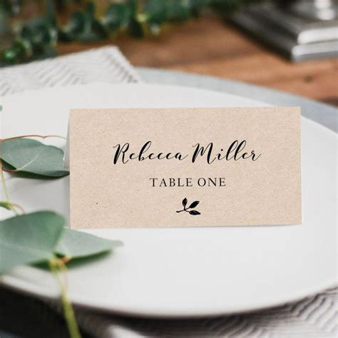 Wedding Place Cards Design Your Own by Best 25 Printable Place Cards Ideas On Free