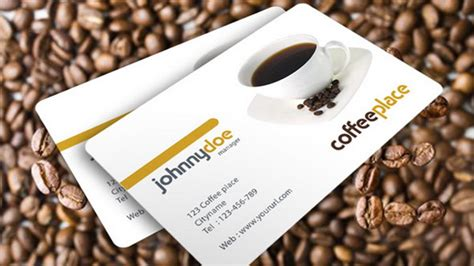 coffee business card template 130 best free psd business card templates techclient