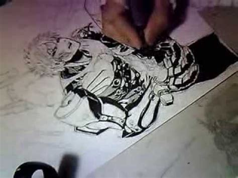yusuke murata working on color page pt.7 [ustream] youtube