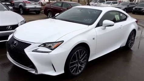 white lexus inside new ultra white on red 2015 lexus rc 350 2dr cpe awd f