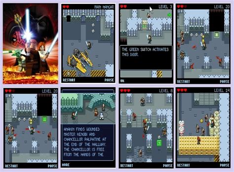 Play Store Java Phoneky Lego Wars 2 Java For Free On Phoneky