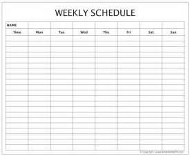 weekly work planner template blank weekly template printable free weekly schedule