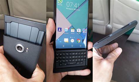 Handphone Blackberry Android harga blackberry priv hp bb yang pakai android segiempat
