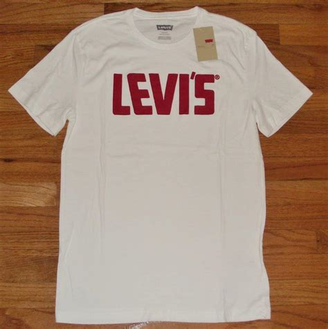 Levis T Shirt Weiß by New Nwt Mens Levi Strauss Levi S T Shirt Graphic Logo