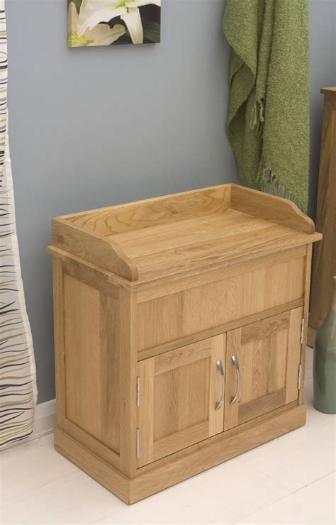 oak shoe storage bench conran solid oak furniture hallway shoe storage bench cabinet ebay