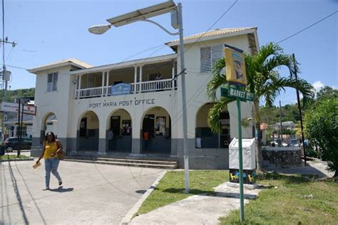 Gladstone Post Office by Jamaica Gleanergallery Parish Capital Feature Port