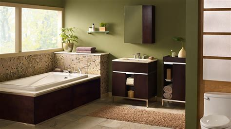 brown and green bathroom 18 relaxing and fresh green bathroom designs home design