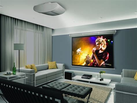 living room projector projector in living room living room pinterest