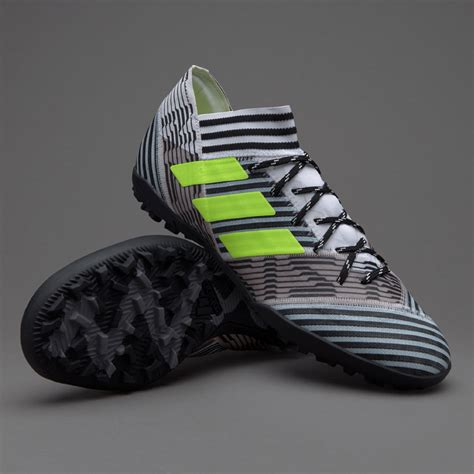 sepatu futsal adidas original nemeziz 17 3 tf white solar yellow black