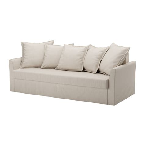 Loveseat Sleeper Sofa Ikea Holmsund Sleeper Sofa Nordvalla Beige Ikea