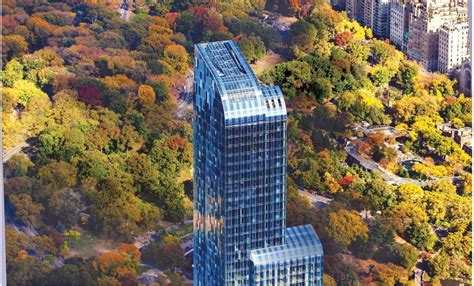 Penthouse Floor Plan by One57 At 157 West 57th St In Midtown Sales Rentals