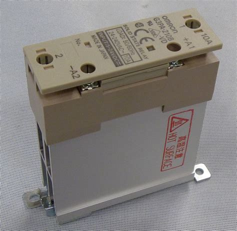 omron g3pa 210b vd solid state relay din mount