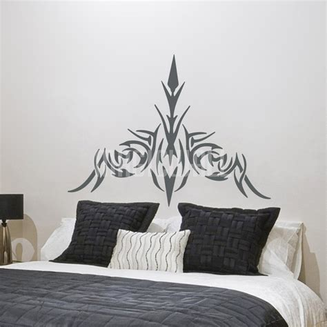 headboard wall decal headboard wall stickers vintage bed headboard wall