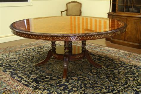 72 round dining table with lazy luxurious 72 inch round walnut and pearl inlaid dining table