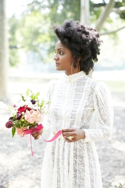 Wedding Hairstyles For Black Brides 2014 by 11 Brides Who Proof Afro Is Beautiful South