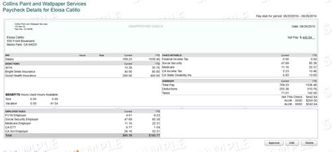 Intuit Payroll Processing Template Process Street Intuit Pay Stub Template