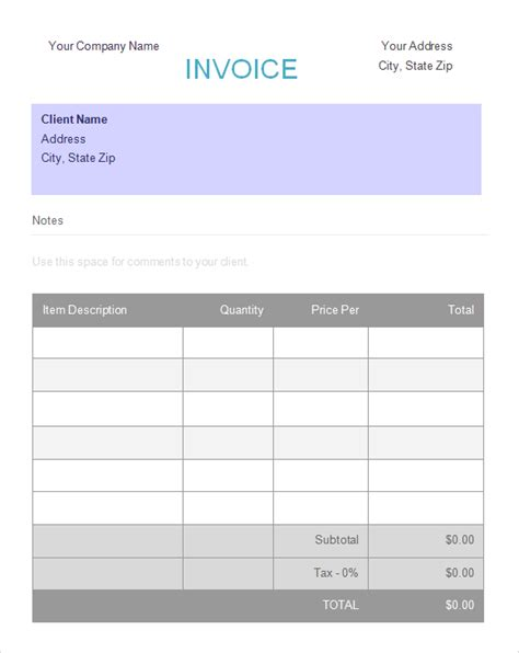 deposit invoice template deposit invoice template printable word excel invoice