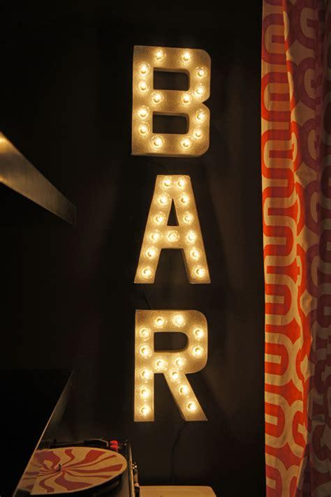 light up bar signs clever basement bar ideas making your basement bar shine