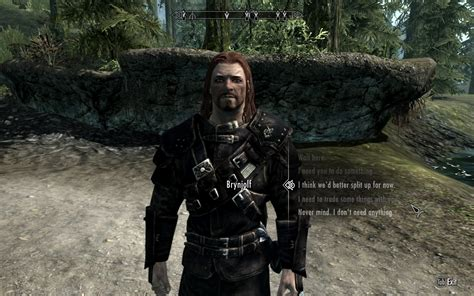 skyrim vex mod brynjolf and vex thieves guild followers at skyrim