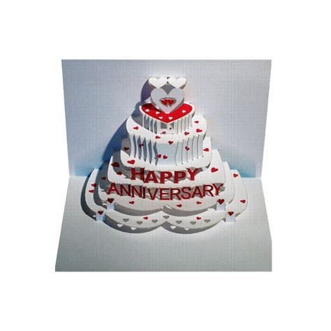 pop up anniversary card happy anniversary amazing pop up greeting card