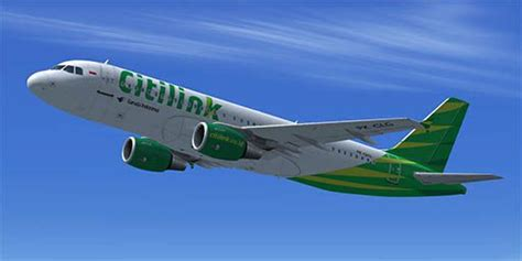 citilink airbus x livery citilink airbus a320 pk glg for fsx