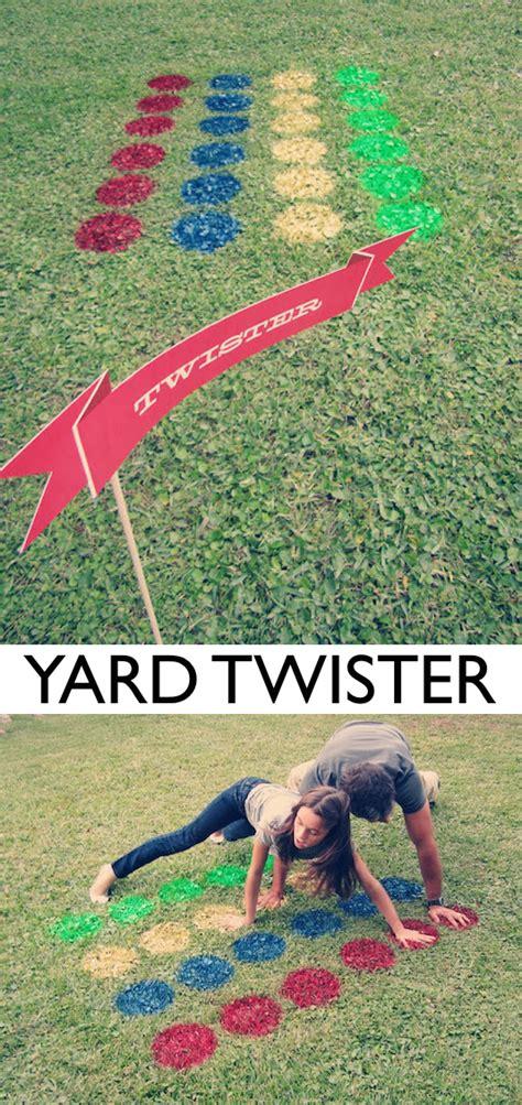 backyard twister 32 fun diy backyard games to play for kids adults