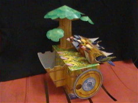 Papercraft Automata - papercraft automata bird by bazuro on deviantart
