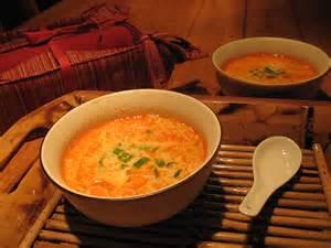 soupe tha 239 au curry et lait de coco recettes du qu 233 bec