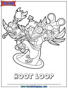 Le And Hoot Colouring Pages sketch template