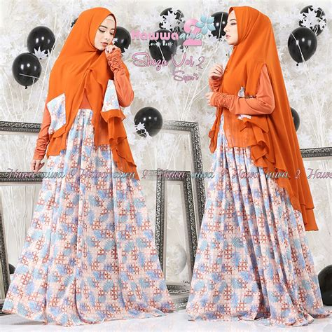 Sheza Dress murah n ori collection sheza syar i 2 by hawwa aiwa