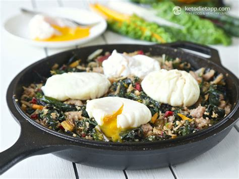 keto diet recipes made easy 15 minutes recipes with easy to find ingredients books low carb rainbow chard sausage hash the ketodiet