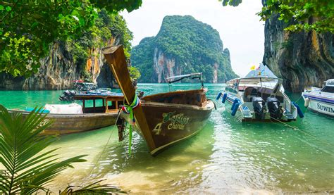 boat tour thailand 4 islands tour by long tail boat from krabi my thailand