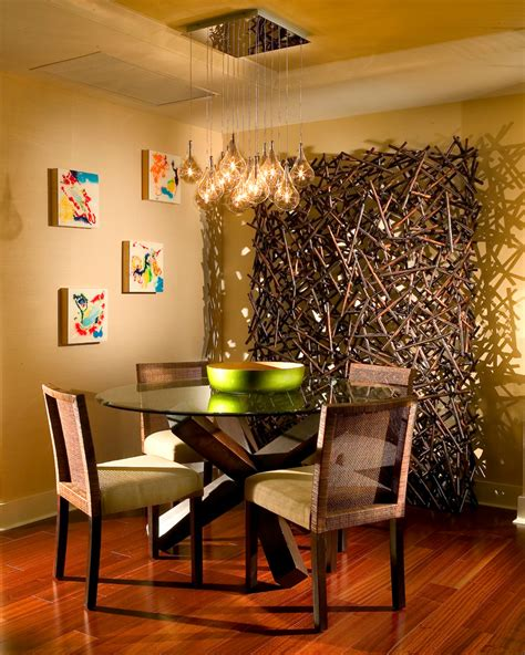 dining room light fixtures contemporary with eclectic wall
