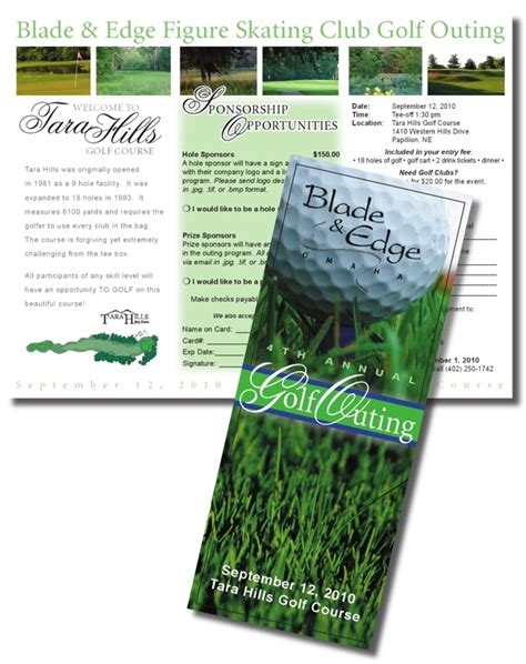 golf brochure templates 17 best images about graphic design brochures on