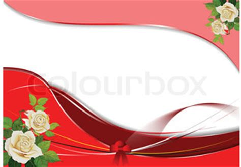 greeting wedding card with rose's bunch. vector