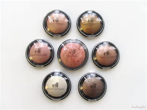 Eyeshadow Pixy Review e l f studio baked eyeshadow review makeupfu
