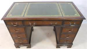 leather writing desk antique georgian style mahogany leather top writing desk