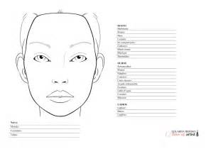 makeup charts template where to blank makeup charts mugeek vidalondon