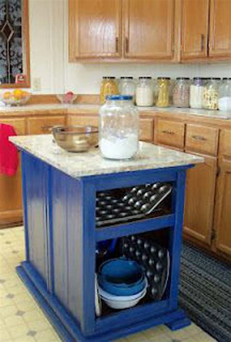 diy kitchen island ideas 32 simple rustic kitchen islands amazing diy