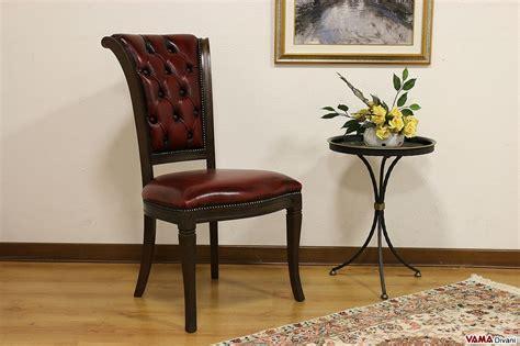 sedia classica sedia classica con lavorazione capitonn 232 sullo schienale