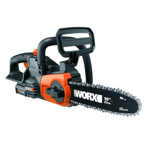 20v 10 Quot Cordless Chainsaw Saw With Auto Tension Wg322 Worx
