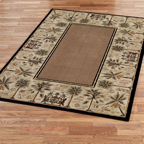 palm tree area rug couristan area rugs palm trees personal