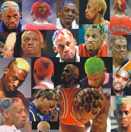 Dennis Rodman Hairstyles by 7 Dennis Rodman Realclearsports