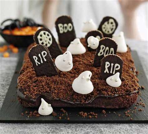 haunted graveyard cake recipe | bbc good food