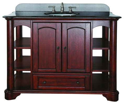 Mahogany Vanity avanity vermont vs48 ma vermont 49 quot vanity set in mahogany with vanity top in bl traditional